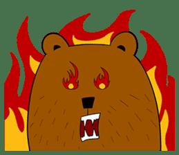 Boobaa Bear sticker #8008481