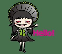 Gothic Girl (English ver.) sticker #8016690