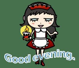 Gothic Girl (English ver.) sticker #8016691