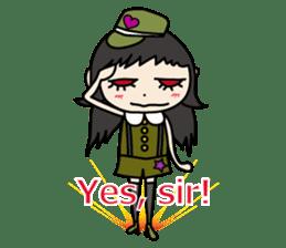 Gothic Girl (English ver.) sticker #8016697