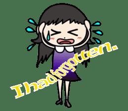 Gothic Girl (English ver.) sticker #8016698