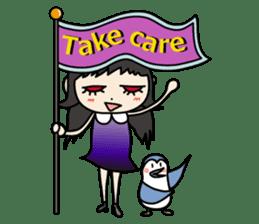 Gothic Girl (English ver.) sticker #8016704
