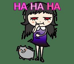 Gothic Girl (English ver.) sticker #8016718