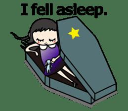 Gothic Girl (English ver.) sticker #8016722