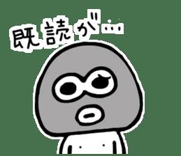 Medashi boy sticker #8019136