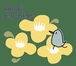 Birds in the forest 2 English ver. sticker #8019764