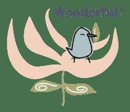 Birds in the forest 2 English ver. sticker #8019766