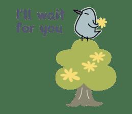 Birds in the forest 2 English ver. sticker #8019767