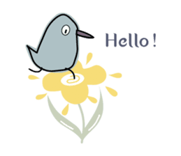 Birds in the forest 2 English ver. sticker #8019769