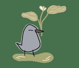 Birds in the forest 2 English ver. sticker #8019771