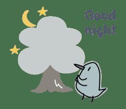 Birds in the forest 2 English ver. sticker #8019779