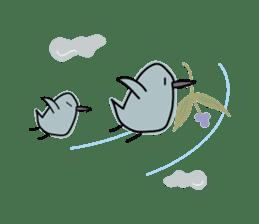 Birds in the forest 2 English ver. sticker #8019782