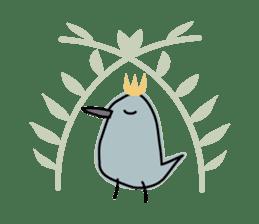 Birds in the forest 2 English ver. sticker #8019784