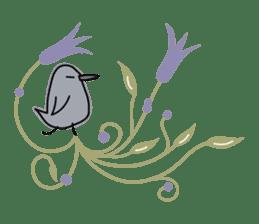 Birds in the forest 2 English ver. sticker #8019785