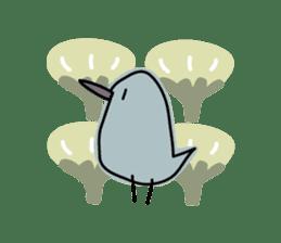 Birds in the forest 2 English ver. sticker #8019787