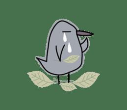 Birds in the forest 2 English ver. sticker #8019793
