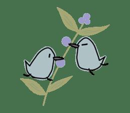 Birds in the forest 2 English ver. sticker #8019797