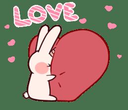 Little Unicorn Bunny 2 sticker #8020444