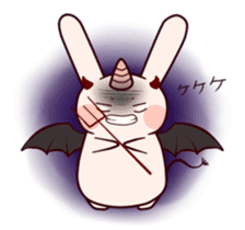Little Unicorn Bunny 2 sticker #8020451