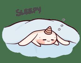 Little Unicorn Bunny 2 sticker #8020469