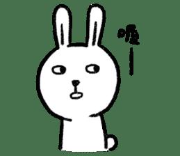 Lazy Rabbit & Mr.Chu 2 sticker #8027245
