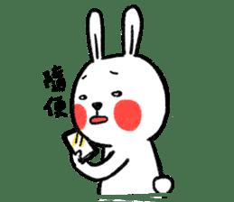 Lazy Rabbit & Mr.Chu 2 sticker #8027247