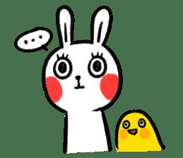 Lazy Rabbit & Mr.Chu 2 sticker #8027248