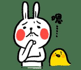 Lazy Rabbit & Mr.Chu 2 sticker #8027250