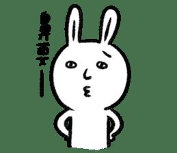 Lazy Rabbit & Mr.Chu 2 sticker #8027257