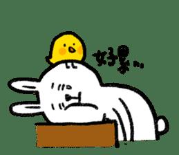 Lazy Rabbit & Mr.Chu 2 sticker #8027261