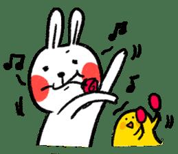 Lazy Rabbit & Mr.Chu 2 sticker #8027263