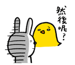 Lazy Rabbit & Mr.Chu 2 sticker #8027270