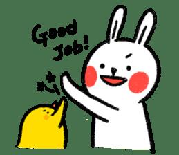 Lazy Rabbit & Mr.Chu 2 sticker #8027277