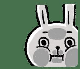 Lazy Rabbit & Mr.Chu 2 sticker #8027282