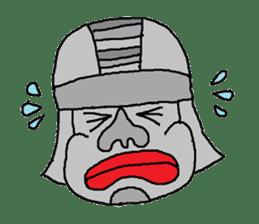 Big Head,Ormeca and Tall,Toltec culture sticker #8030206