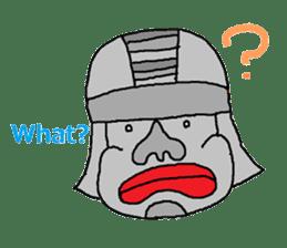 Big Head,Ormeca and Tall,Toltec culture sticker #8030207