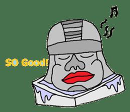 Big Head,Ormeca and Tall,Toltec culture sticker #8030215