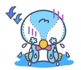 Cute-penguin sticker #8034126