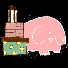 PAO the pink elephant