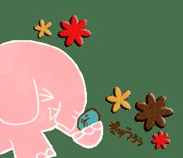 PAO the pink elephant sticker #8036643