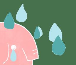 PAO the pink elephant sticker #8036656