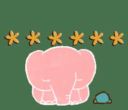 PAO the pink elephant sticker #8036658