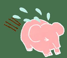 PAO the pink elephant sticker #8036659