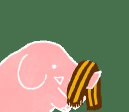 PAO the pink elephant sticker #8036661