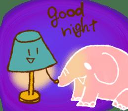 PAO the pink elephant sticker #8036665