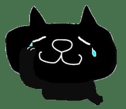 Kurosuke of Black cat sticker #8048457