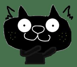 Kurosuke of Black cat sticker #8048460