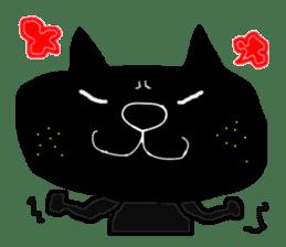 Kurosuke of Black cat sticker #8048461