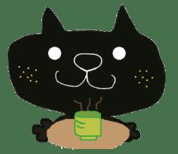 Kurosuke of Black cat sticker #8048466