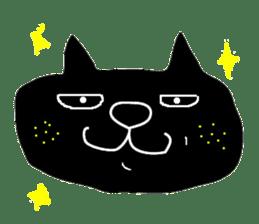 Kurosuke of Black cat sticker #8048467